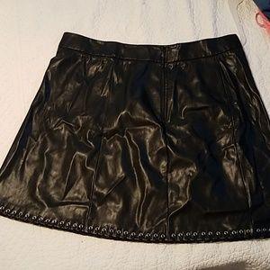 Worthington Skirts - Worthington faux leather skirt